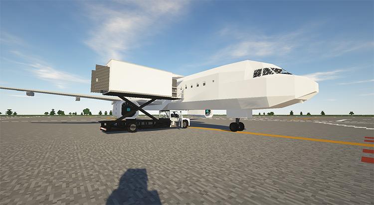 Golden Airport Pack Minecraft Mod