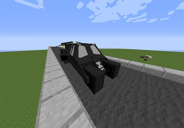 Bat Vehicles Mod for Minecraft