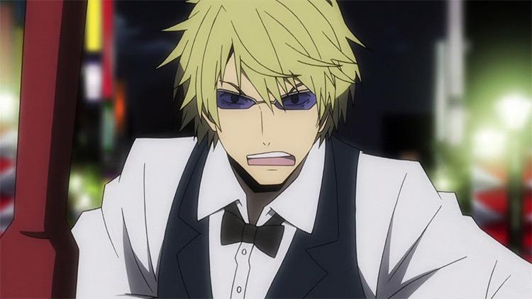 Shizuo Heiwajima from Durarara!! anime