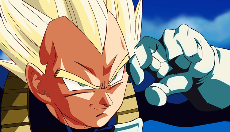 Vegeta in Dragon Ball Z