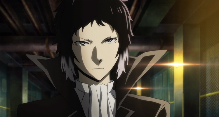 Ryūnosuke Akutagawa in Bungo Stray Dogs