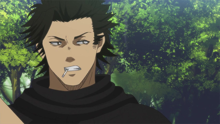 Yami Sukehiro from Black Clover anime