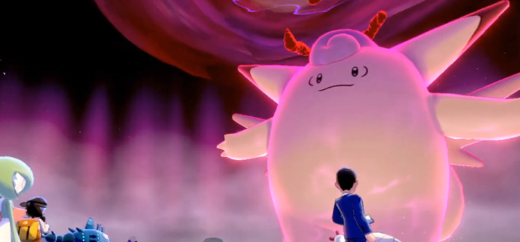 Mega Clefable with Unaware Ability