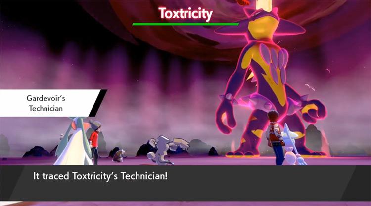 Technician Pokémon Sword & Shield screenshot
