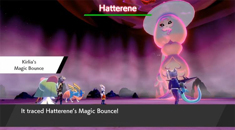Magic Bounce Pokémon SWSH screenshot