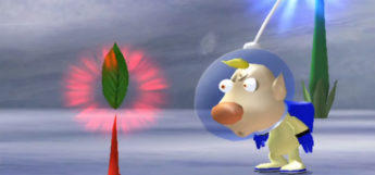 Weird Screenshot in Pikmin 2 for GCN
