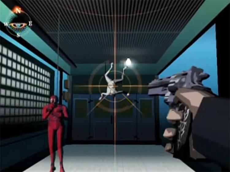 Killer7 GameCube screenshot