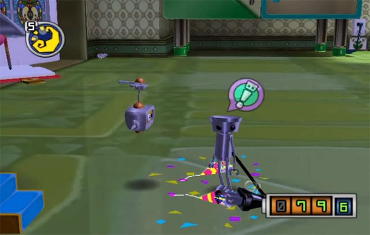 Chibi-Robo! GameCube screenshot