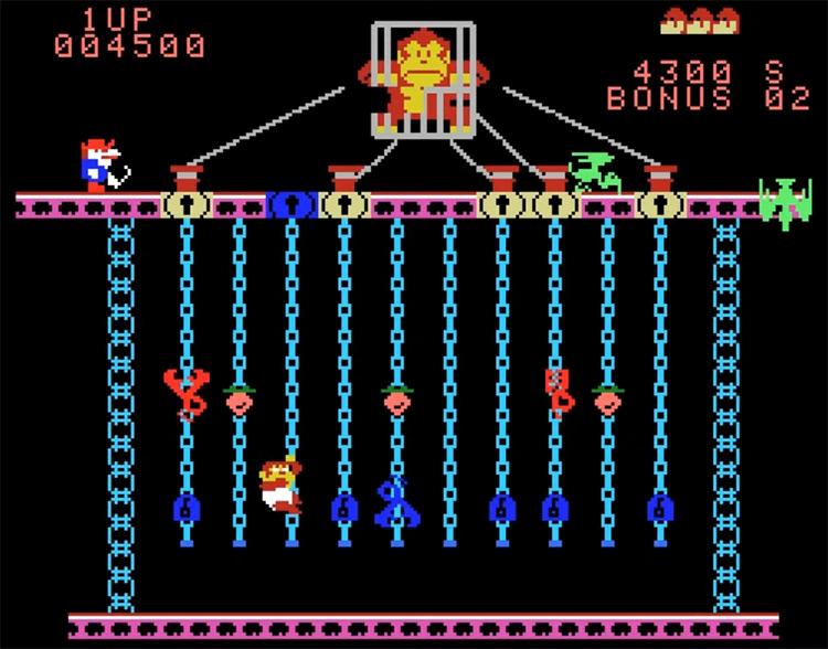Donkey Kong Jr. ColecoVision screenshot