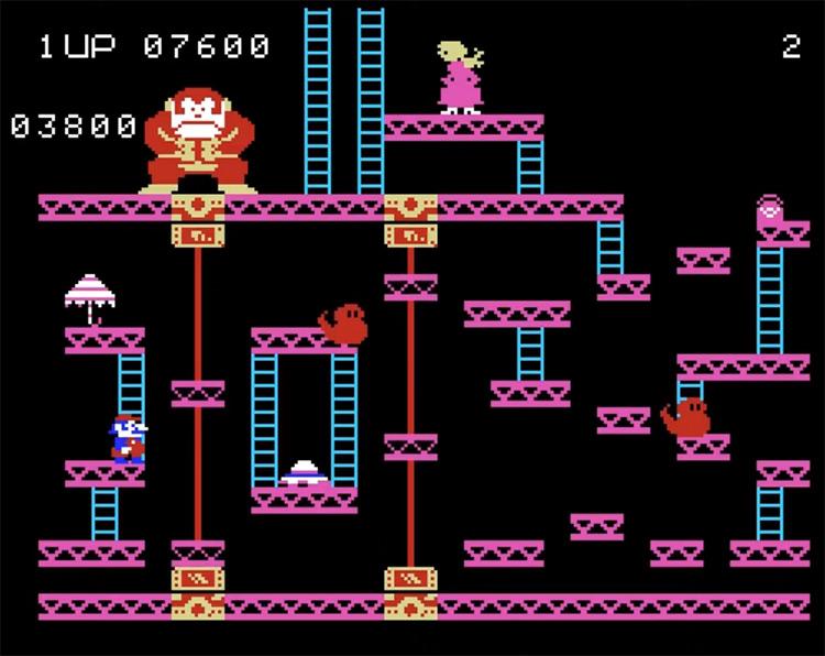 Donkey Kong gameplay