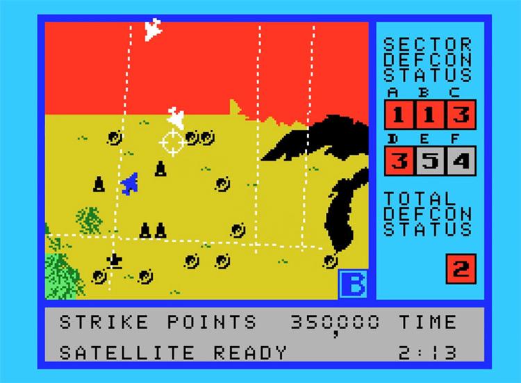 WarGames ColecoVision screenshot