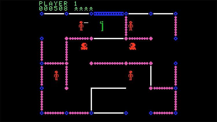 Frenzy ColecoVision screenshot
