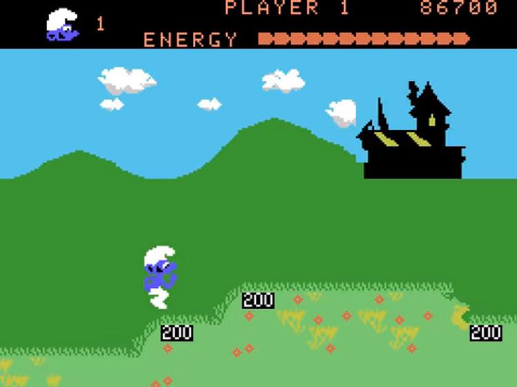 Smurf: Rescue in Gargamel's Castle gameplay