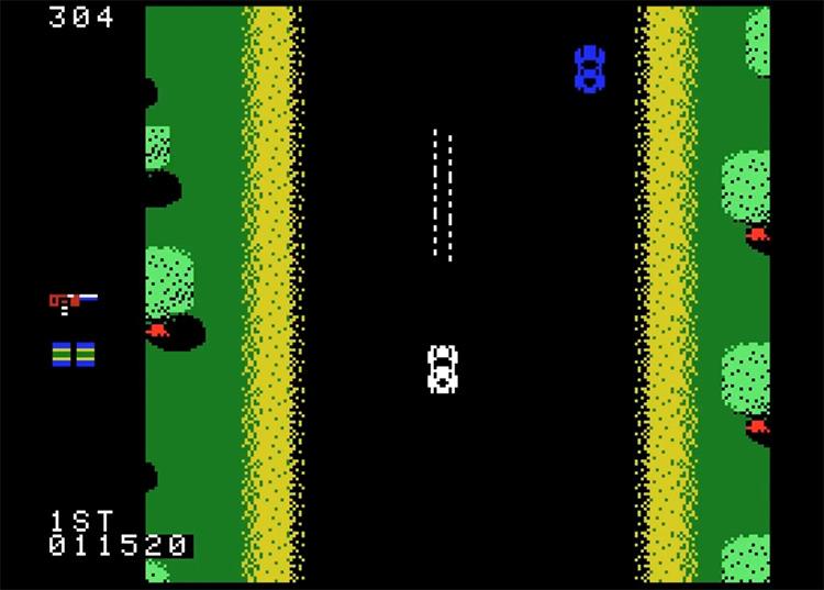 Spy Hunter gameplay