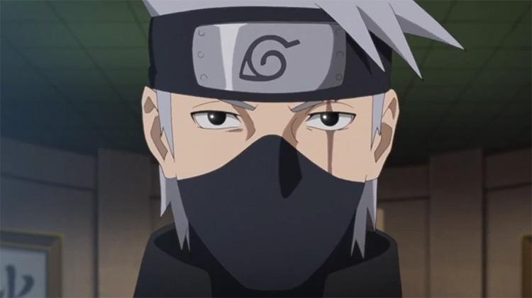 Kakashi Hatake from Naruto: Shippuden anime