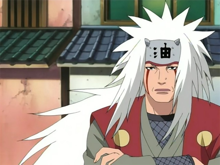 Jiraiya from Naruto: Shippuden anime