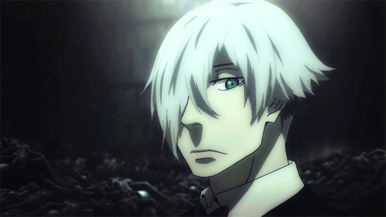Decim from Death Parade anime