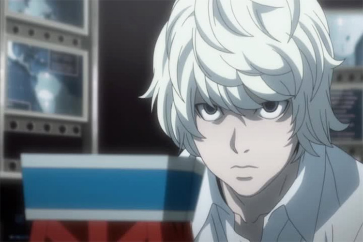 Nate River Death Note anime screenshot