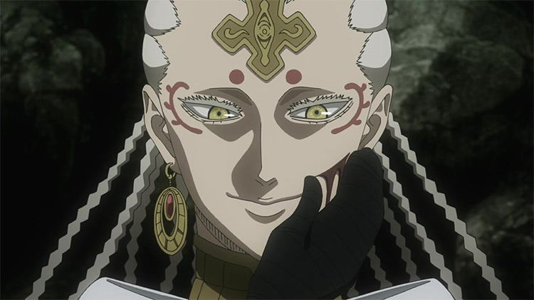 Licht from Black Clover anime
