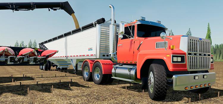 Ford LTL Truck Mod in FS19