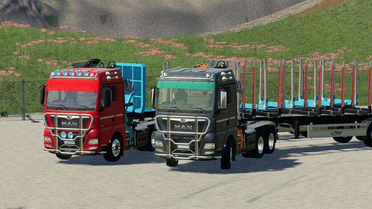 MAN TGX - Modded Trucks for FS19