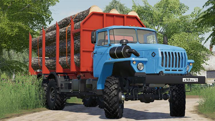 Ural 4320-60 Truck Mod