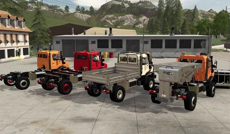 Unimog U 5023 Truck Mod for FS19