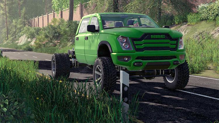 Green Truck Mod - NMC Scarok Pack