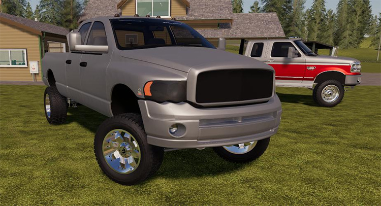 Dodge 3500 Truck Mod for FS19