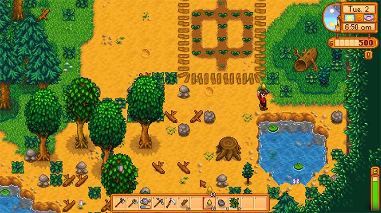 Stardew Valley game screenshot