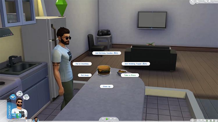The Sims 4 gameplay screenshot