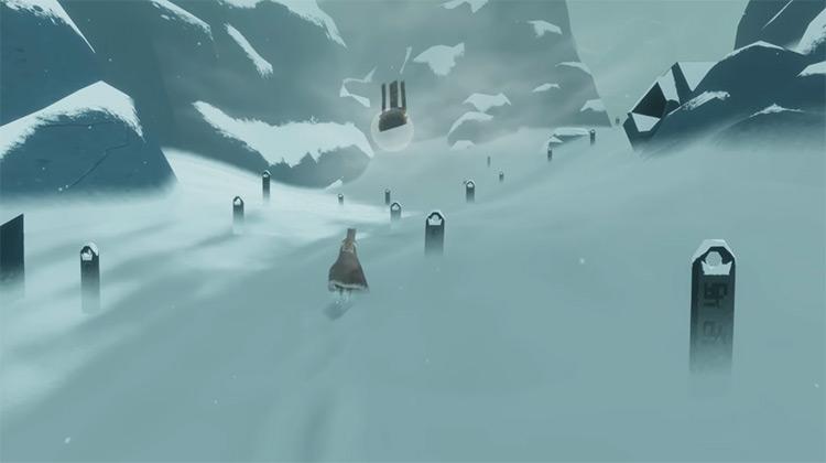 Journey gameplay screenshot