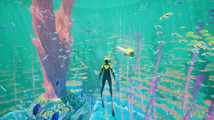 Abzu gameplay PS4 screenshot