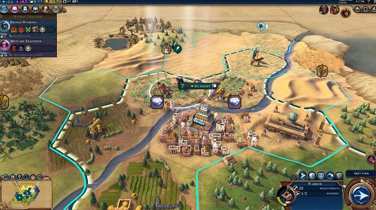 Civilization VI PC gameplay