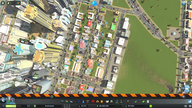 Cities: Skylines gameplay screenshot