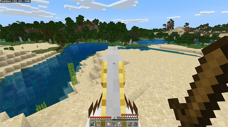 Minecraft 2011 gameplay screenshot