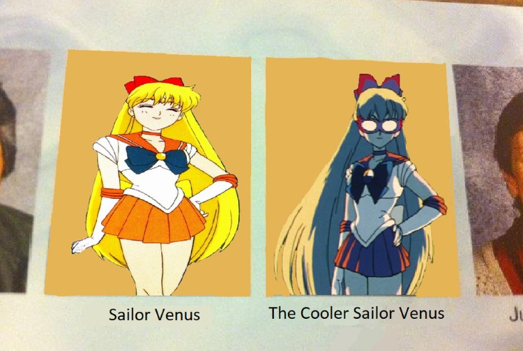 Sailor Venus vs. The Cooler Sailor Venus
