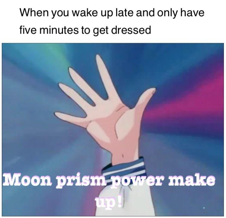 Moon prism power make up!