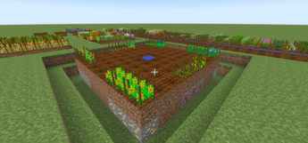 Minecraft AgriCraft Mod Preview