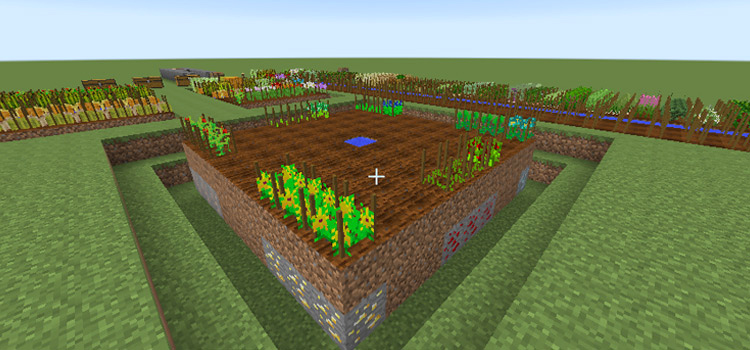 Minecraft AgriCraft Mod Preview