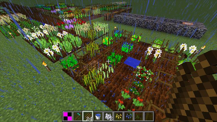AgriCraft mod for Minecraft