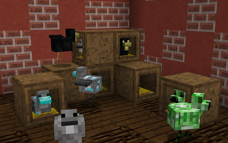 Roost Minecraft mod screenshot
