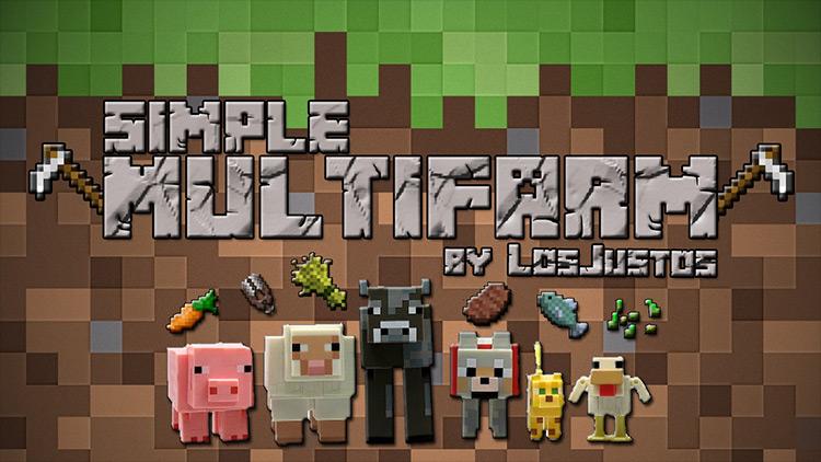 SimpleMultiFarm mod for Minecraft