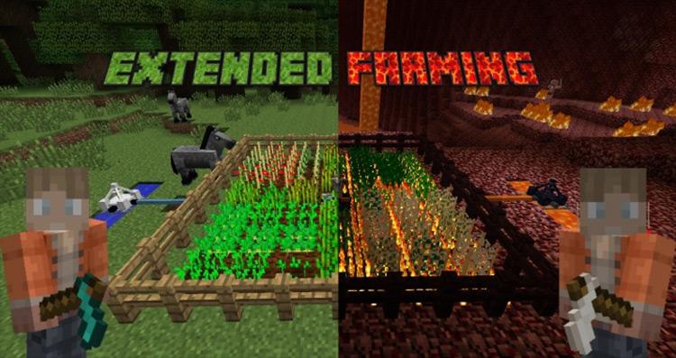Extended Farming Minecraft mod