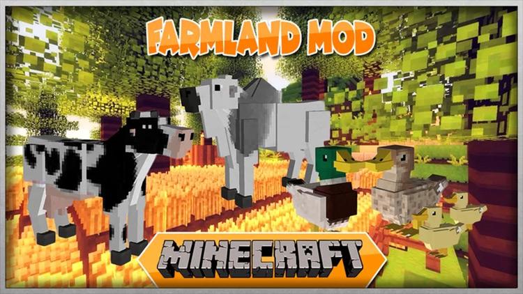 Farmland Mod for Minecraft