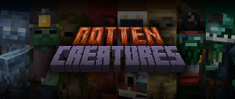 Rotten Creatures Minecraft mod screenshot