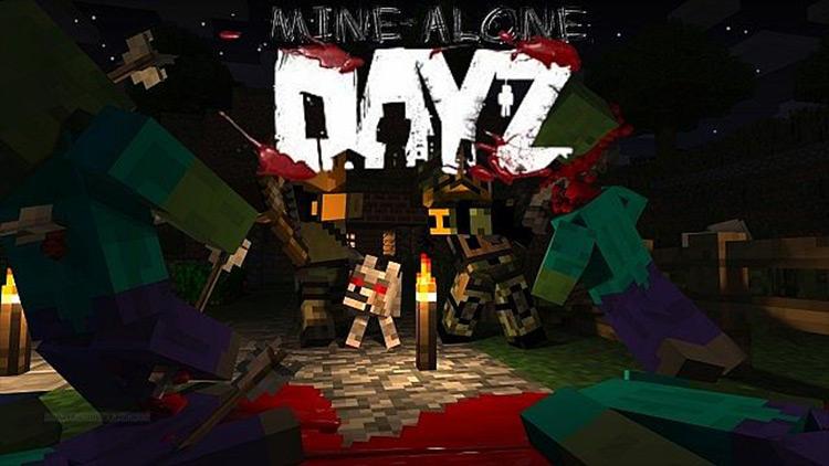 DayZ Minealone Minecraft mod