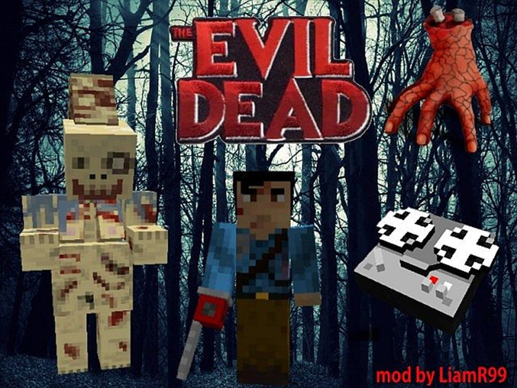 The Evil Dead Minecraft mod