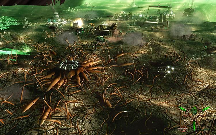The Forgotten Command & Conquer 3: Tiberium Wars mod