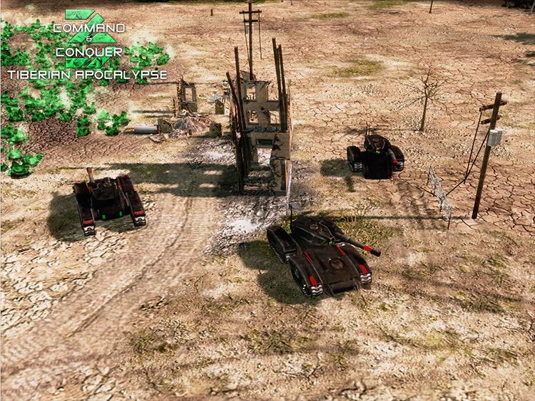 Tiberian Apocalypse Command & Conquer 3 screenshot